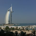 Beautiful Burj Al Arab view from the room