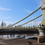 One of the Great bridges of London-Hammersmith