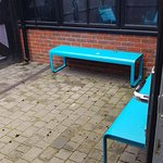 courtyard needs new seating chair and table