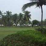 Beautiful resort.   Hot!