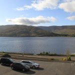 Our Room over looked Loch Linnhe