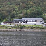 A view of the Hotel from the Loch