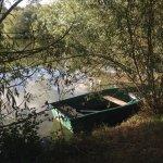La barque à libre disposition des hôtes.