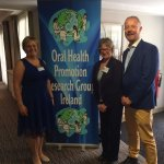 Rose Bradley Molloy, Dr. Mary O'Farrell & Professor Richard Watt at the recent OHPRG Conference.