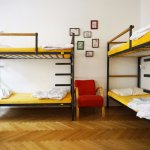 A standard (6 bed) dorm - the perfect place to get to know other travellers!