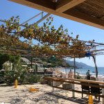 View from Spiros Taverna