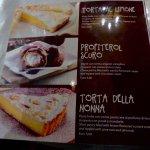 Pastry menu 1
