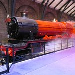 The Hogwarts Express.