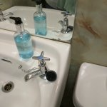 bad state of the bathroom