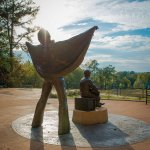Elvis Presley's birthplace and park in Tupelo Mississipi