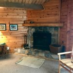 Cabin 7 hearth