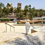 Jordan River Baptismal Site Foto