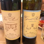 The 2 bottles of wine that the 3 of us polished off at the end of our tour with lunch