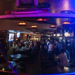 View from the stage in the Pour House, our 2nd level bar.