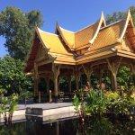 Thai Pavilion made of gold leaf