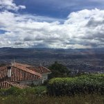 Panoramic view of Bogota, Colombia.