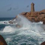 phare de Ploumanach'h vu du sentier douanier