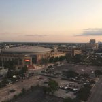 Great view of Toyota Center