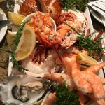 Seafood platter - we chose what we wanted, as opposed to ordering a set platter.