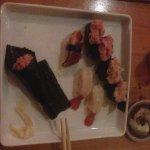 Temaki, nigiri and GunKan sushi