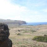 Moai con forma distintitva