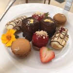 Desserts from the Royal Afternoon Tea