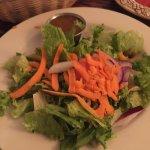 Very nice house salad