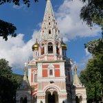 """Мемориальная церковь """"за углом""""."""