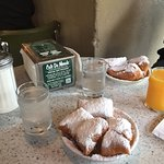 Beignets at Cafe Du Monde!