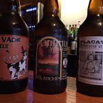 Good selection of local craft brew