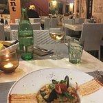 Ein sehr gutes Risotto frutti di mare im Restaurant Dream, Rovin.