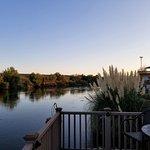 Dusk on the Rio Grande.