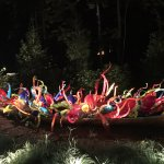 This Chihuly will remain at Crystal Bridges - yea!!
