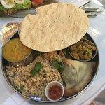 Vegan Thali Plate