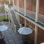 Main Inn courtyard