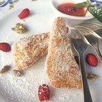 deep fried Venetian cream