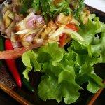 Fish salad  - The Emporia at Chatrium - Traditional Mayanmar dish