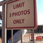There is a limit on photos (not enforced, but I think people would be pretty mad at you if you b
