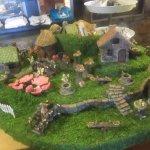 Cute village display