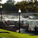 Nice Walkways To View Falls