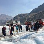 Photo of Athabasca Glacier