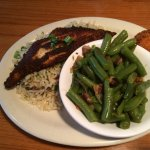 Blackened Catfish with Green Beans