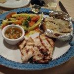 Grilled fresh grouper.  Best I had that trip!