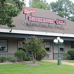 Rocco's Smokehouse Grill as seen from the Bypass Road