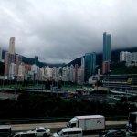 A cloudy view... (iqendo shots HK 2017)