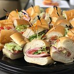 Catering is here at Aleco's Café Restaurant.