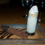Chocolate Cigar for dessert is a must!