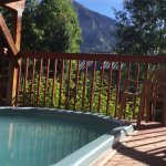 From the hot tub and from the front deck Mt Crested Butte is always watching you!!!!