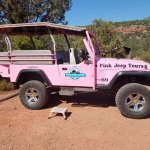 Our Pink Jeep, good old # 69