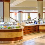 Indoor buffet restaurant
